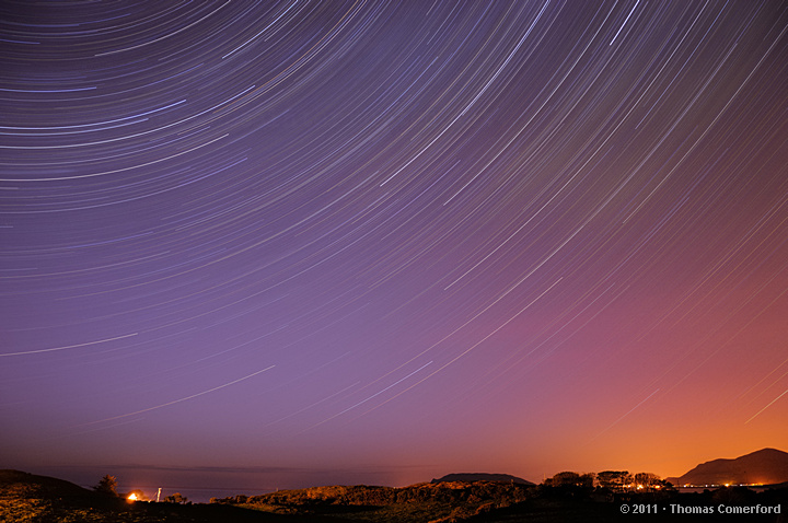 Inishowen Star-trails